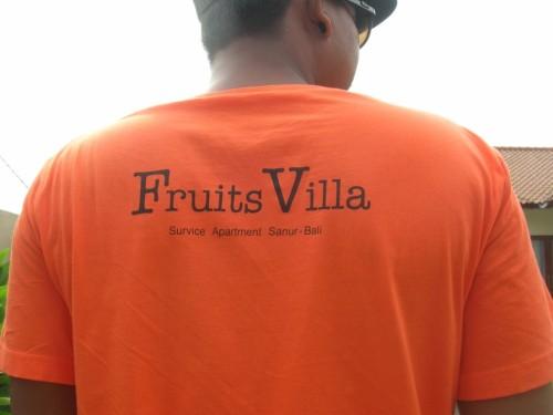 フルーツビラのTシャツ1